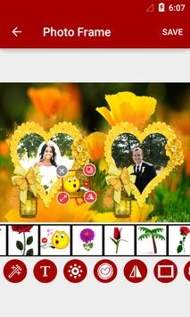 Flowers Dual Photo Frames screenshot 7