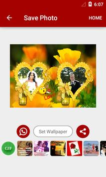 Flowers Dual Photo Frames screenshot 8