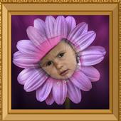 Flowers Photo Frame icon