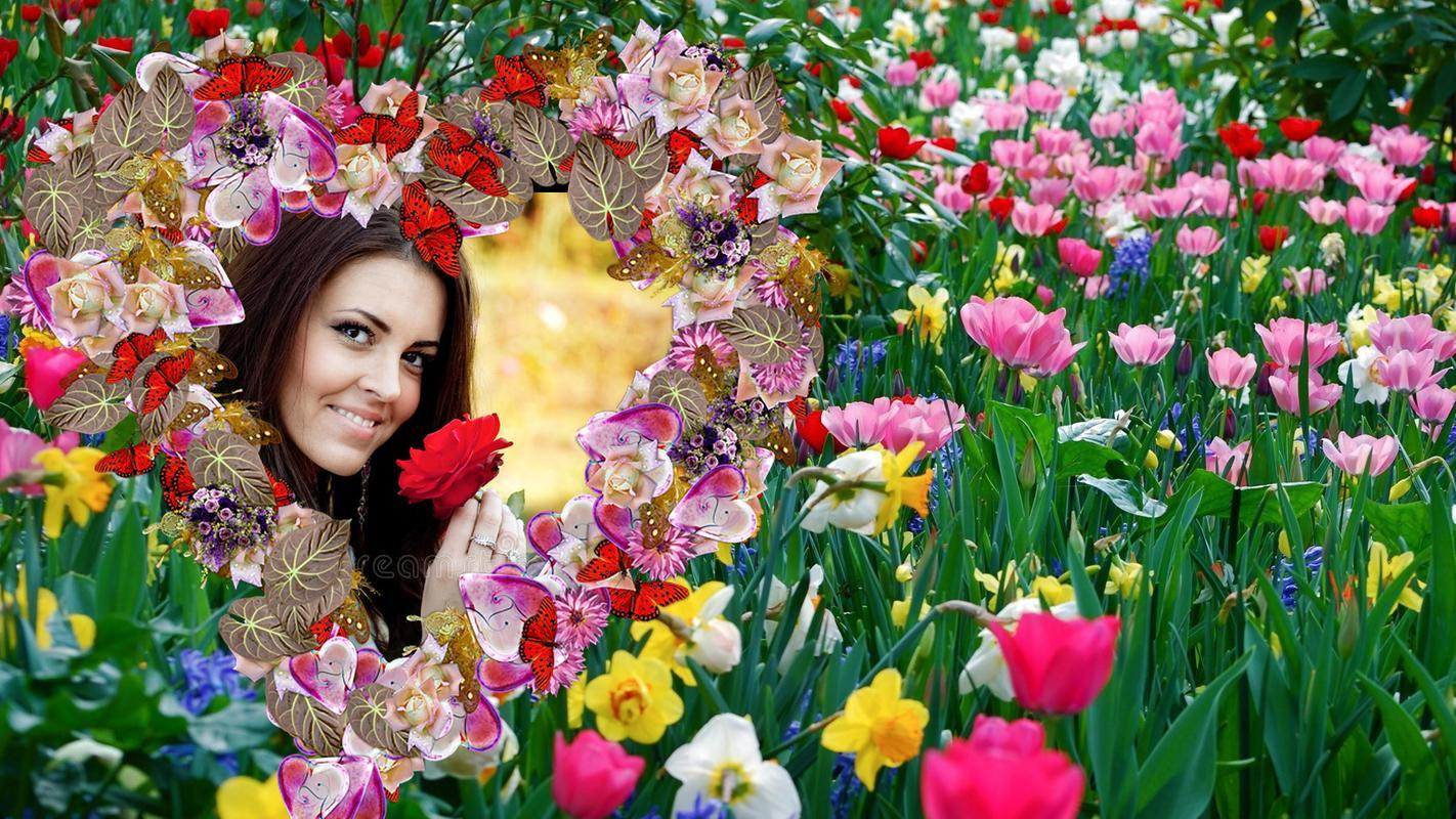 Blumen / Blumen Bilderrahmen Editor für Android - APK herunterladen