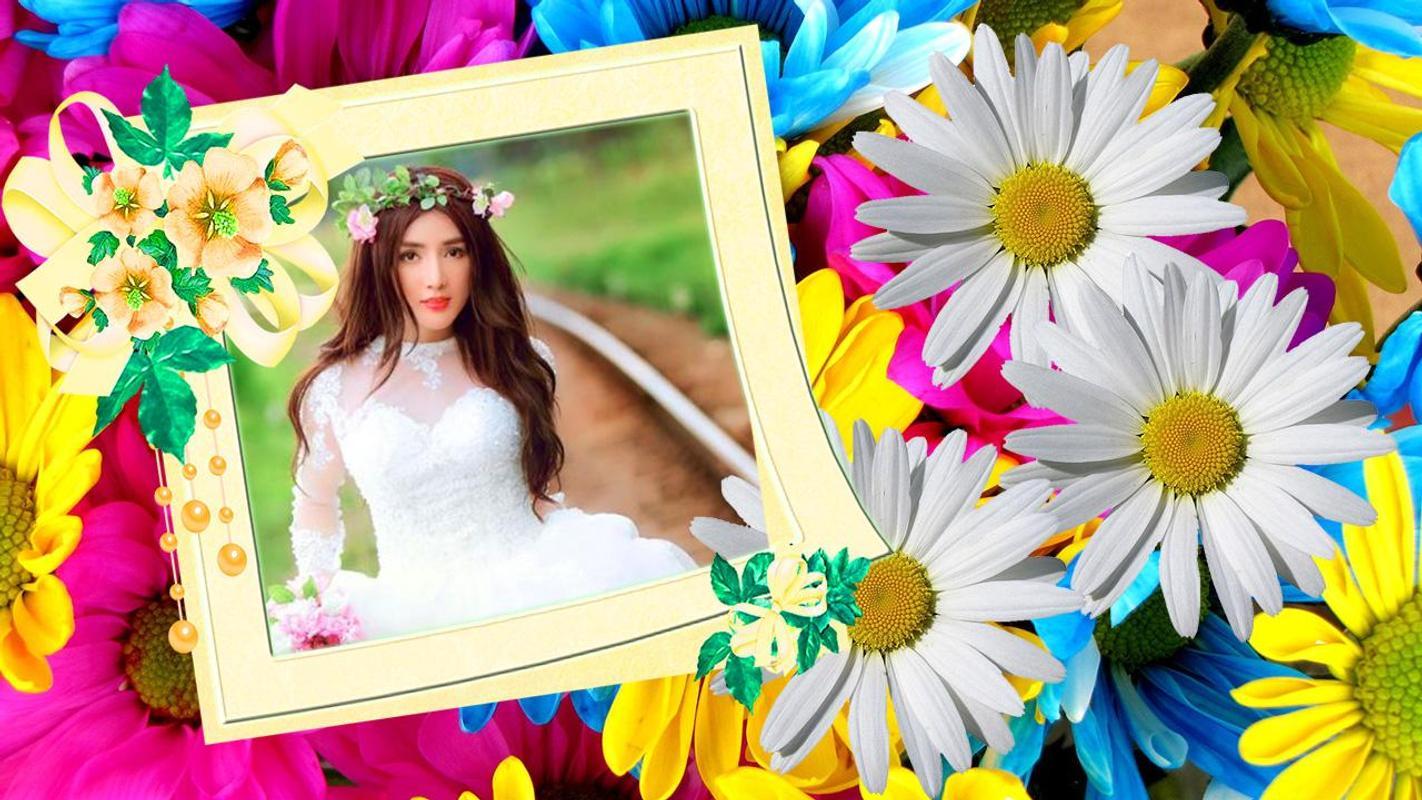 Flores marcos de fotos Descarga APK - Gratis Fotografía Aplicación ...
