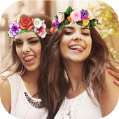 Snap Filters Flower Crown icon