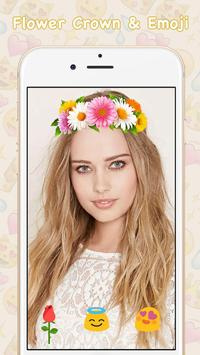 Snap Filters Flower Crown screenshot 3