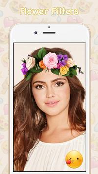 Snap Filters Flower Crown screenshot 5