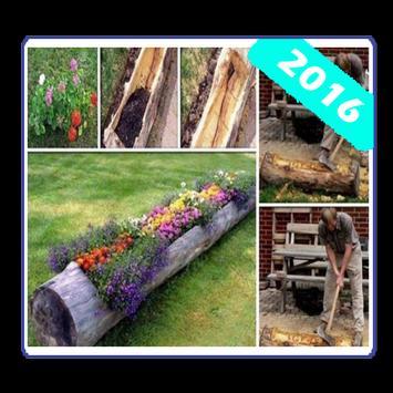 create flower garden poster