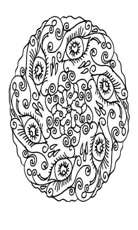 Flower Mandalas Coloring Pages - Adult Coloring for Android ...