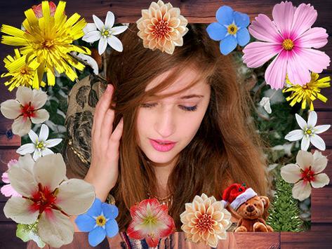 Winter Flowers Photo Frames screenshot 3
