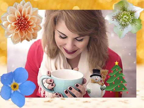 Winter Flowers Photo Frames screenshot 4