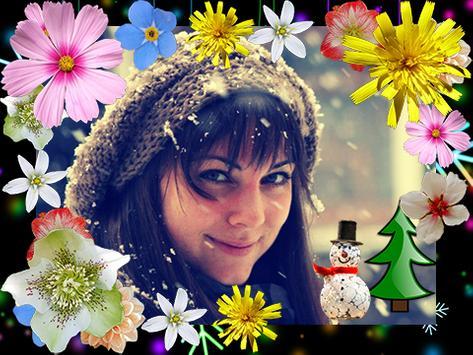 Winter Flowers Photo Frames screenshot 5