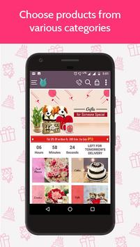 Flowers Cakes Online: Gifts Delivery poster