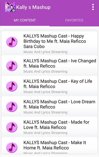 Kally's Mashup - All Song and Lyrics for Android - APK Download