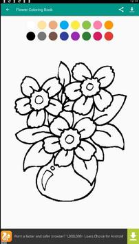 FLOWER Coloring Book Pages FREE screenshot 2