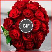 Flowers GIF 2019 icon