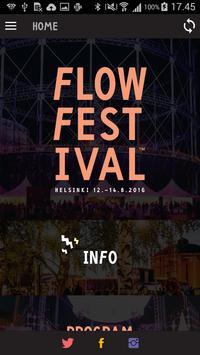 Flow Festival 2016 poster