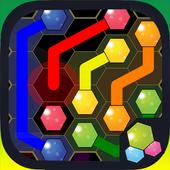Hexagon Flow Free icon