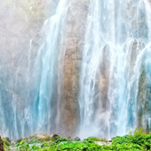 flowing waterfall wallpaper icon