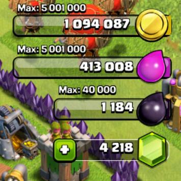 Cheat for Clash Of Clans-prank screenshot 3