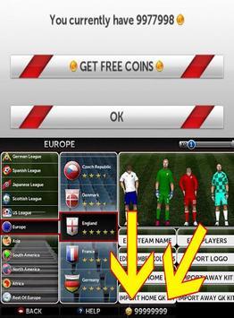 Cheat Dream League Socer prank screenshot 2