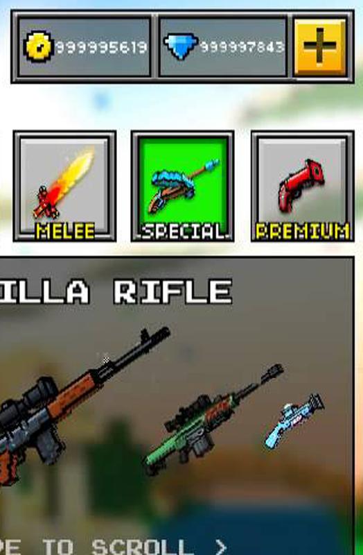 pixel gun hack apk 2017