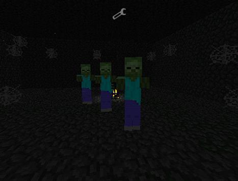 MODS DANGER MONSTER For MCPE screenshot 1