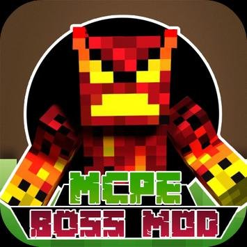 Boss Mods For MCPE poster