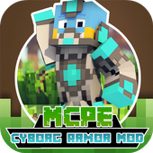 Cyborg Armor Mod For MCPE icon