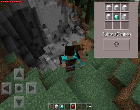 Cyborg Armor Mod For MCPE apk screenshot