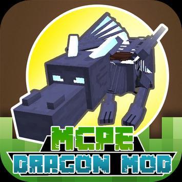 Dragon MODS For MCPE poster