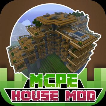 New House MODS For MCPE poster