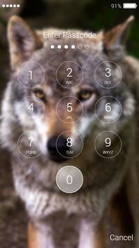 Wolf Lock Screen screenshot 6