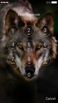 Wolf Lock Screen screenshot 1