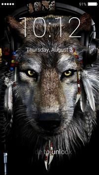 Wolf Lock Screen screenshot 3