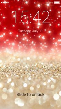Glitter Lock Screen apk screenshot