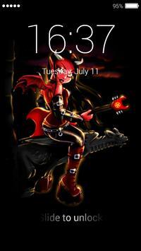 Red Devils Lock Screen screenshot 2