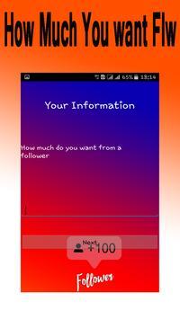 Get Folwrs Instak 2019 Prank screenshot 3