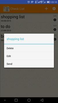 Easy Check list screenshot 5