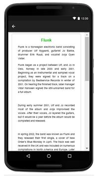Flunk - Music And Lyrics screenshot 4