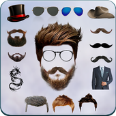 Beard Man Photo Editor Hairstyles Mustache Saloon icon
