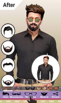 Beard Man Photo Editor Hairstyles Mustache Saloon screenshot 4
