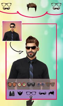 Beard Man Photo Editor Hairstyles Mustache Saloon screenshot 2