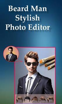 Beard Man Photo Editor Hairstyles Mustache Saloon screenshot 3