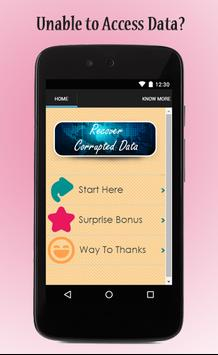 Recover Corrupted Data Guide for Android - APK Download