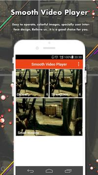 Smooth Video Player apk screenshot