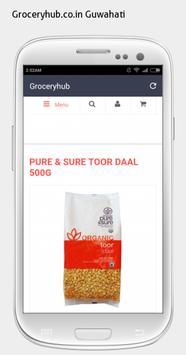 Groceryhub.co.in Guwahati apk screenshot