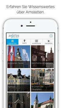 Amstetten App poster