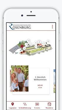 Renaissanceschloss Rosenburg poster