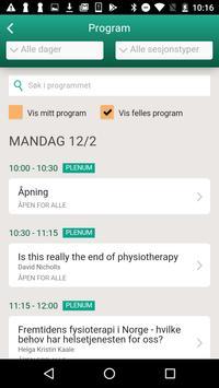 Fysioterapikongressen 2018 poster