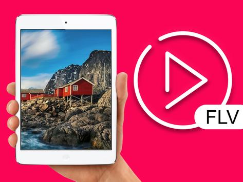flv video player for android poster