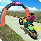 MotoBike Stunt Track: Impossible Mission icon