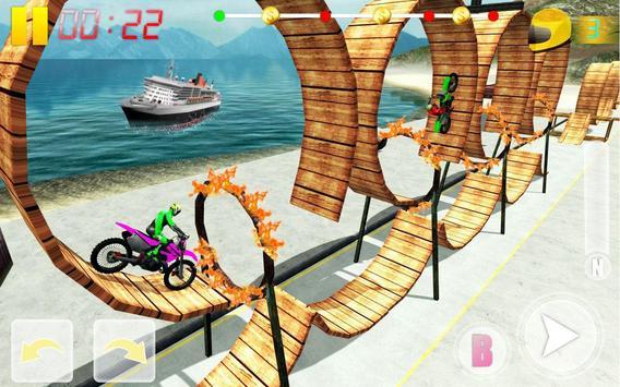 MotoBike Stunt Track: Impossible Mission screenshot 7